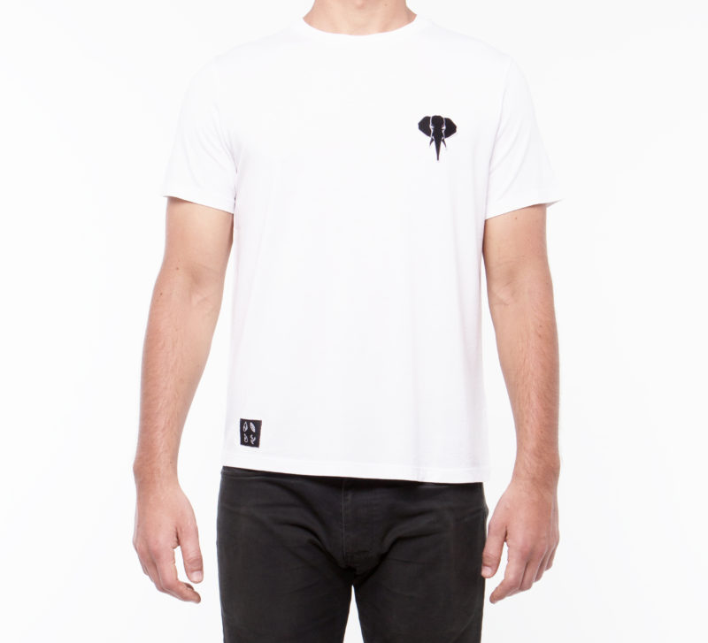 White T-shirt • Black Logo OMNIA IN UNO