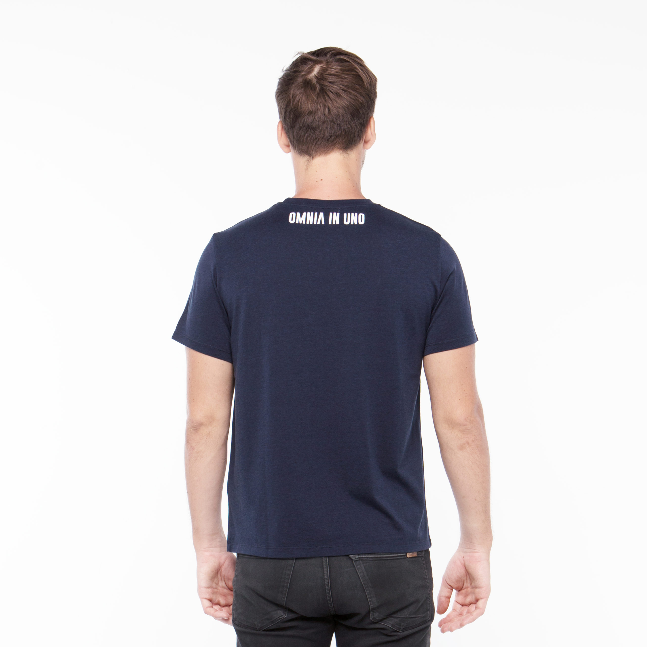 Navy T-shirt • OMNIA IN UNO