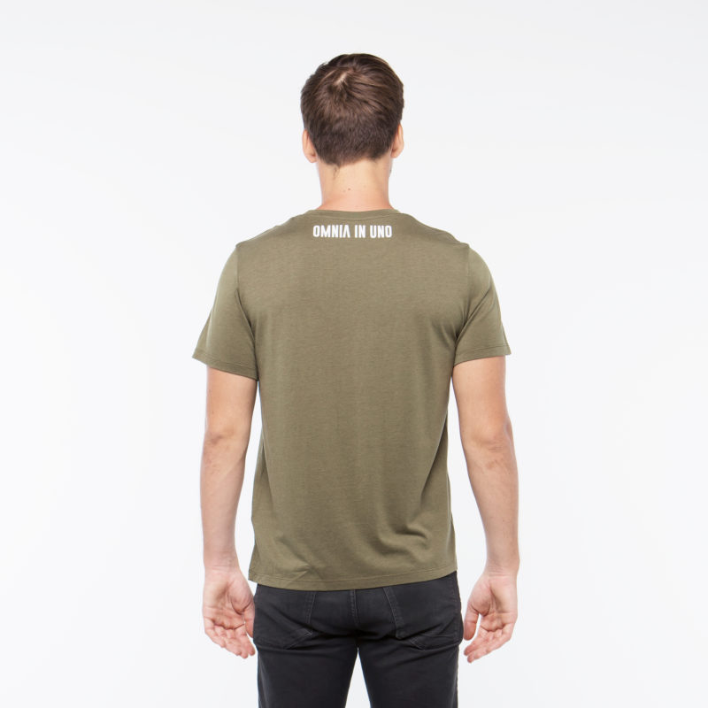Khaki T-shirt • OMNIA IN UNO