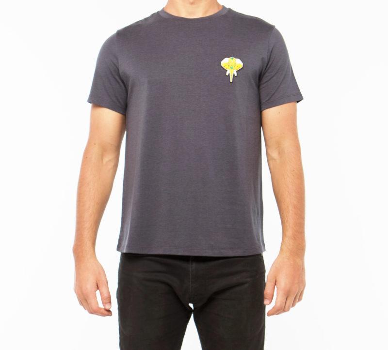 Dark grey T-shirt • OMNIA IN UNO