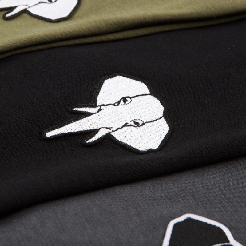 Black T-shirt • White logo OMNIA IN UNO