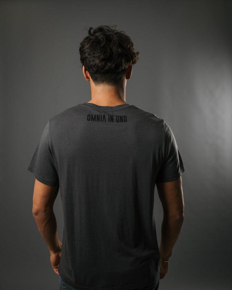 T-shirt gris dos