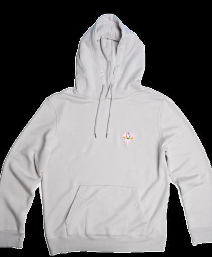grey/hoodie pink/logo omnia in uno